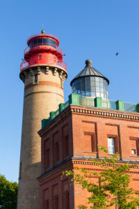 Rügen, Kap Arkona, Leuchttürme (neuer Leuchtturm und Schinkelturm)