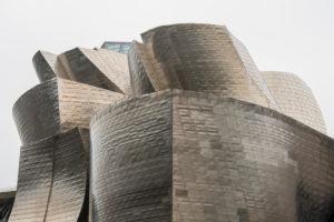 Spain, Bilbao, Guggenheim Museum, architecture