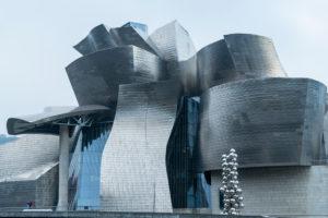 Spanien, Bilbao, Guggenheim-Museum, Architektur, Fassade, Metall