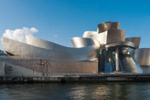 Spain, Bilbao, Guggenheim Museum, sculpture, spider, maman