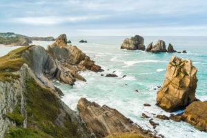 Spanien, Nordküste, Kantabrien, Costa Quebrada, Geopark