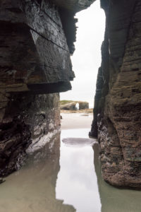 Spain, north coast, Galicia, national park, cathedral beach, Praia as Catedrais, Playa de las Catedrales, natural monument