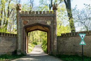 Berlin, Wannsee, Park Glienicke, Tor, landscape conservation area