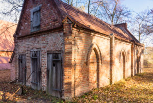 Berlin, Wannsee, Pfaueninsel, Meierei, outbuildings