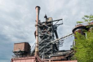 Duisburg, North Landscape Park, former iron and steel works