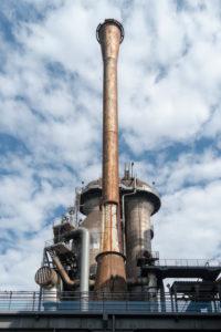 Duisburg, Landschaftspark Nord, former steelworks, blast furnace 2