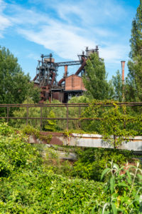 Duisburg, Landschaftspark Nord, ehemaliges Hüttenwerk