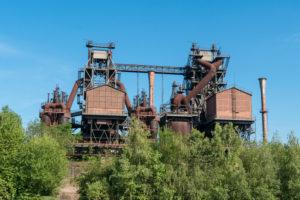 Duisburg, Landschaftspark Nord, former iron and steel works, casting hall 2