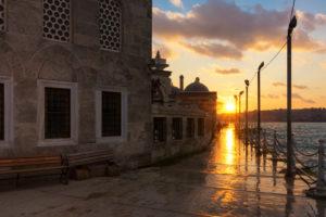 Turkey, Istanbul, Uskudar, Semsi Pasa Mosque