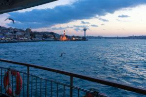 Türkei, Istanbul, Bosporus, Fähre