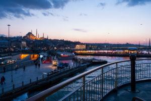 Türkei, Istanbul, Bosporus, Fähre Üsküdar-Eminönü (von Asien nach Europa)