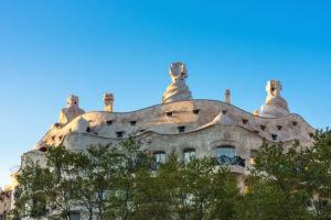 Barcelona, Casa Milá, La Pedrera, Antoni Gaudi, architectural monument, Unesco world heritage site