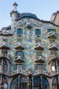 Barcelona, Casa Battlo, Paseo de Gracia, Architekt Antoni Gaudi