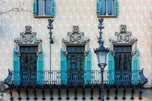 Barcelona, Passeig de Gracia, Fassade