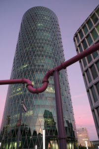 Frankfurt am Main, Hesse, Germany, Westhafen Tower