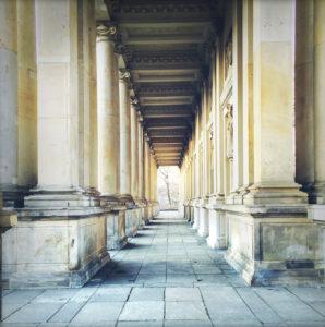 Säulengang, Berlin, Säulen