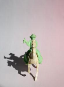 Spielzeug, Reiter, Cowboy, Plastik, Miniatur, Pferd, Schatten, reiten, Western, weißes Pferd
