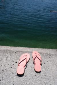 Flip Flops am See
