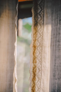 Fenster, Gardine