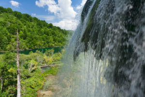 Wasserfall, Nationalpark Plitvicer Seen, UNESCO Weltnaturerbe, Kroatien