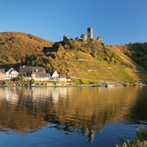 Burgruine Metternich, Beilstein, Mosel, Rheinland-Pfalz, Deutschland