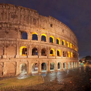 Kolosseum, Colosseo, UNESCO Weltkulturerbe, Rom, Latium, Italien