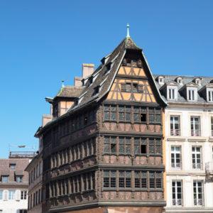 Haus Kammerzell am Münsterplatz, UNESCO Weltkulturerbe, Straßburg, Elsass, Frankreich