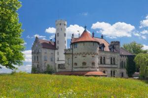 Schloss Lichtenstein, Schwäbische Alb, Baden-Württemberg, Deutschland