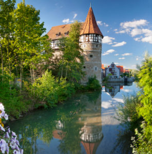 Zollernschlössle, Balingen, Swabian Jura, Baden-Württemberg, Germany