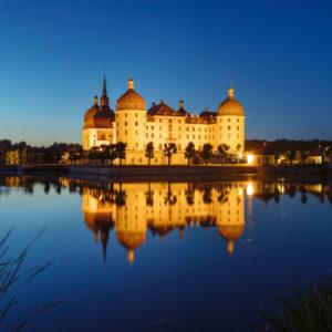 Schloss Moritzburg, Sachsen, Deutschland,