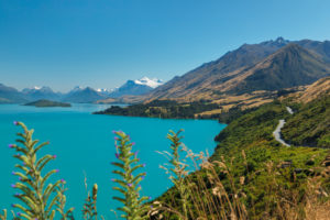Lake Wakatipu versus Mount Earbslaw; Queenstown, Otago, South Island, New Zealand, Oceania