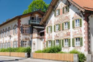 Hänsel und Gretel Haus, Oberammergau, Ammertal, Oberbayern, Deutschland