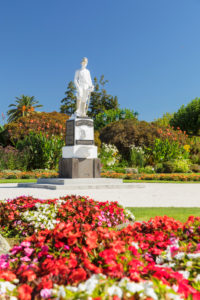 South African War memorial, Government Garden, Rotorua, Bay of Plenty, Nordinsel, Neuseeland, Ozeanien