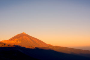 Pico del Teide at sunrise, Teide National Park, Tenerife, Canary islands, Spain