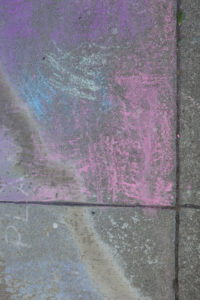 coloured sidewalk chalk