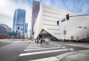 The Broad museum, Los Angeles downtown
