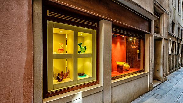 Schaufenster in Altstadt, Venedig, Venetien, Italien
