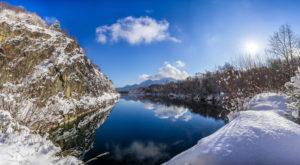 Murnauer Moore in winter, district Garmisch-Partenkirchen, Bavarians, Germany