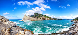 View at Porto Venere, Italy, Liguria, vacation