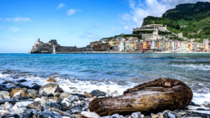 View at Porto Venere, Cinque Terre, Italy, Liguria, vacation