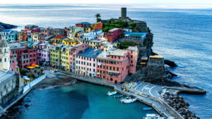 View at Vernazza, Cinque Terre, Liguria, Italy