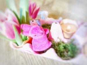 Easter decoration, tinkering, DIY, detail, blur,