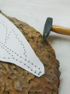 DIY, String Art, Feder, Detail,
