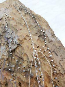 DIY, String Art, Feather, Detail,