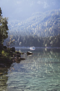 Germany, Bavaria, lake Eibsee