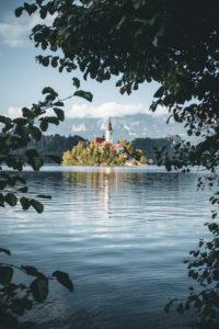 Slovenia, Oberkrain, Bled, Bleder lake