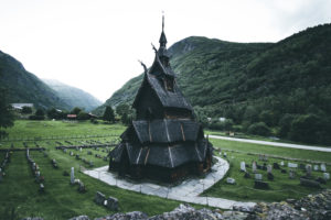 Norway, Bgung, stave church