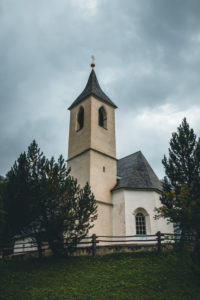 Italy, South Tyrol, Suldental, Sulden, church
