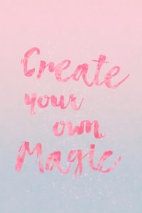 Illustration 'create your own magic'
