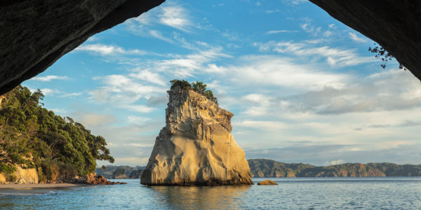 Cathedral Cove, Cathedral Cove Marina Reserve, Coromandel Peninsula, Waitako, North Island, New Zealand, Oceania